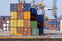 NETHERLANDS, ROTTERDAM, - APRIL 19, 2018, Maritime Cargo Business.