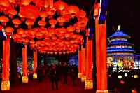 France, Tarn, Gaillac, Festival des lanternes (Chinese Lantern Festival). . The festival celebrates Chinese culture originating from the Tang Dynasty ...