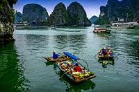 Vietnam, Ha Long Bay is a UNESCO World Heritage Site and popular travel destination in Quang Ninh Province, Vietnam. Administratively, the bay belongs...