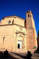 San Pedro church. Cuenca. Spain.