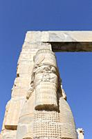 The gate of all nations, Persepolis, Iran.