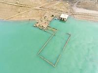 Yesa reservoir, Tiermas, Zaragoza, Aragon, Spain.