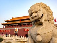 China Beijing Forbidden City.