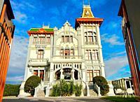 Villa Rosario Hotel (built in 1914), Ribadesella, Asturias, España