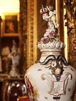 Poland. Kozlowka Palace of the Zamojski noble family. Vase
