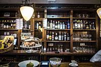 Old pub at Candas, Asturias, spain.