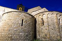 San Felix church in Barruera village Bohi valley Lleida Catalunya Spain.