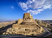 Kerak Castle, Al-Karak, Karak Governorate, Jordan.