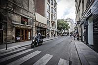 Clasic Scene, Strees of Paris.