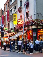 Pub exterior, Dublin, Ireland.