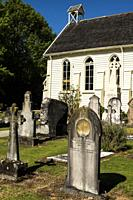 Christ Church in Russell, New Zealand, the country´s oldest church.