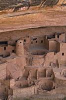 Cliff Palace, Mesa Verde National Park, Unesco World Heritage Site, Colorado, Usa, America.