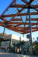 Finestrelles shopping center, Esplugues de Llobregat, Catalonia, Spain