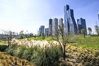La Mexicana its a park located at Santa Fe area in Mexico City.