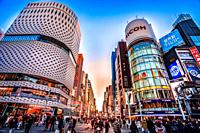Japan, Tokyo City, , Ginza District, Chuo Avenue.