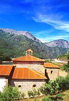 La Magdalena church. Tanes, Asturias, Spain.