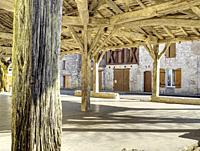 market halle, Laparade, Lot-et-Garonne Department, Nouvelle Aquitaine, France.