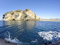 The stunning coastline of Cabo De Gata in Almeria, Spain.