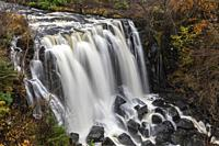 Aros Park Waterfall on the Isle of Mull.