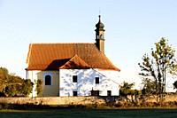 church near Rabi, Sumava. Czech Republic.