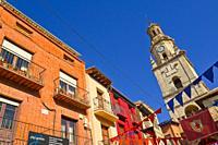 Torre del Reloj, 17th Century Clock Tower, Puerta del Mercado, Old Town, Toro, Zamora, Castilla y León, Spain, Europe.
