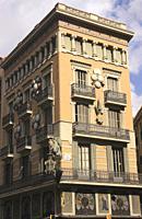 Casa Bruno Cuadros Pla de la Boqueria Barcelona Spain.