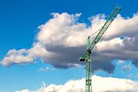 A crane is a type of machine, generally equipped with a lifting rope, wire ropes or chains and pulleys, which can be used both to lift and lower the m...