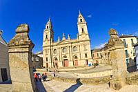 Saint Mary's Cathedral of Lugo, Catedral de Santa María de Lugo, 12th Century Romanesque Style, Spanish Property of Cultural Interest, Lugo City, Lugo...