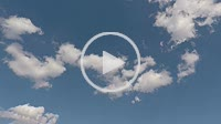 Timelapse of white clouds in the blue sky