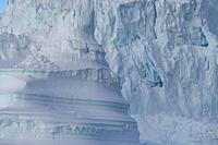Close-up of Iceberg, Scoresbysund, Greenland.