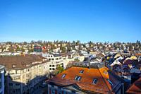 Cityscape Over St Gallen in Switzerland.