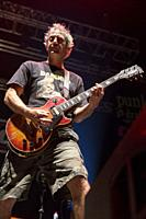 Madrid, Spain- May 14: Christ Rest from Lagwagon punk-rock band performs in concert at Wizink center on may 14,2019 in Madrid, Spain (Photo by: Angel ...