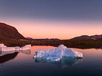 Icebergs, Narsaq, Greenland.