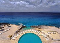 Hotel Swimming Pool. Cozumel. (Yucatán) Mexico.