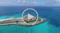 Los Roques, Caribbean sea. Fantastic landscape. Aerial view of paradise island WATER CAY .with blue water. Great caribbean beach scene. Vacation on de...