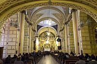 Peru, Lima, Iglesia de la Merced.
