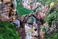Algeria, Constantine City, Natural Bridge