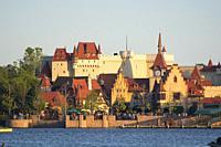 German Pavilion at Epcot, Disney World, Orlando, FLorida, USA.