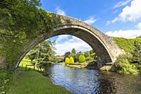 the Old Brig o'Doon, a 15th century cobblestone bridge crossing the River Doon at Alloway, Ayrshire and was mentioned in the poem Tam O'Santer by Robe...