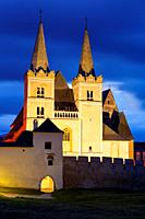 UNESCO World Heritage site of ecclesiastical town of Spisska Kapitula in eastern Slovakia.