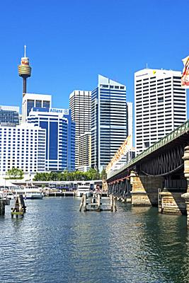 Darling Harbour, Sydney, New South Wales, Australia,.