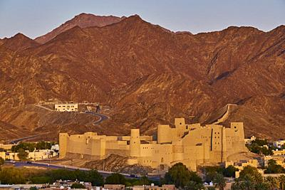 Sultanate of Oman, Ad-Dakhiliyah Region, Bahla Fort, UNESCO World Heritage Site.