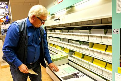 Berlin, Germany. Some 30 years after the Berlin Wall fell, federal authorities are still Conserving and Accesing the archives of the former Stasi Inte...
