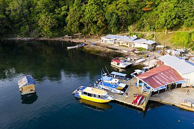 Tufi Harbor, Cape Nelson, Oro Province, Papua New Guinea.