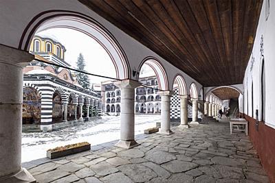 Bulgaria, Sofia, Rila, Monastery.