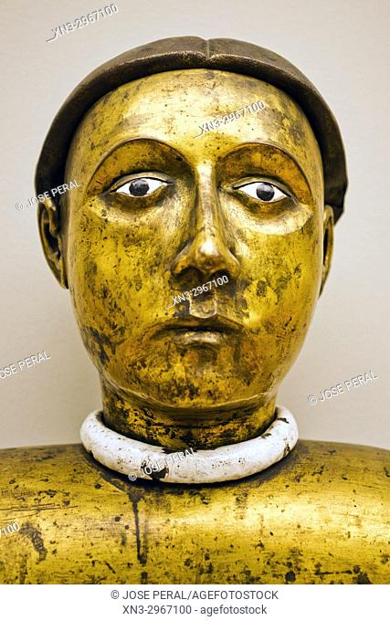 Reliquary Bust of Male Saint, Bode Museum, Museum Island, Berlin, Germany, Europe