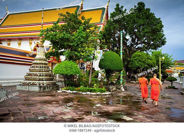 Wat Pho temple  Bangkok, Thailand