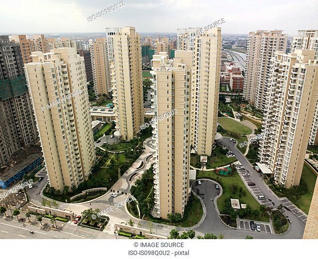 Shanghai apartment buildings