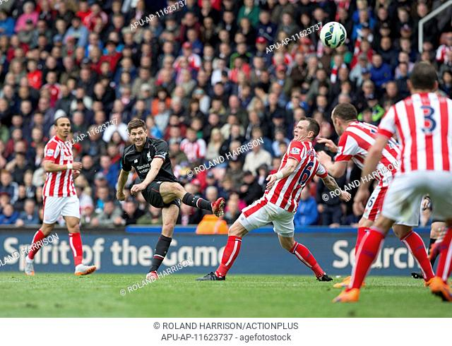 2015 Barclays Premier League Stoke v Liverpool May 24th. 24.05.2015. Stoke, England. Barclays Premier League. Stoke versus Liverpool