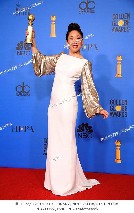 """After winning the category of BEST PERFORMANCE BY AN ACTRESS IN A TELEVISION SERIES – DRAMA for her role in """"""""Killing Eve"""